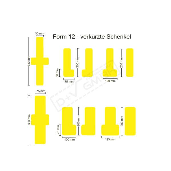 Beispielbild Stellplatzmarkierungen Form 12